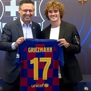 Other - PRE-ORDER GRIEZMANN BARCELONA HOME JERSEY